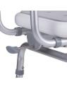 Silla de ducha giratoria 360º con reposabrazos
