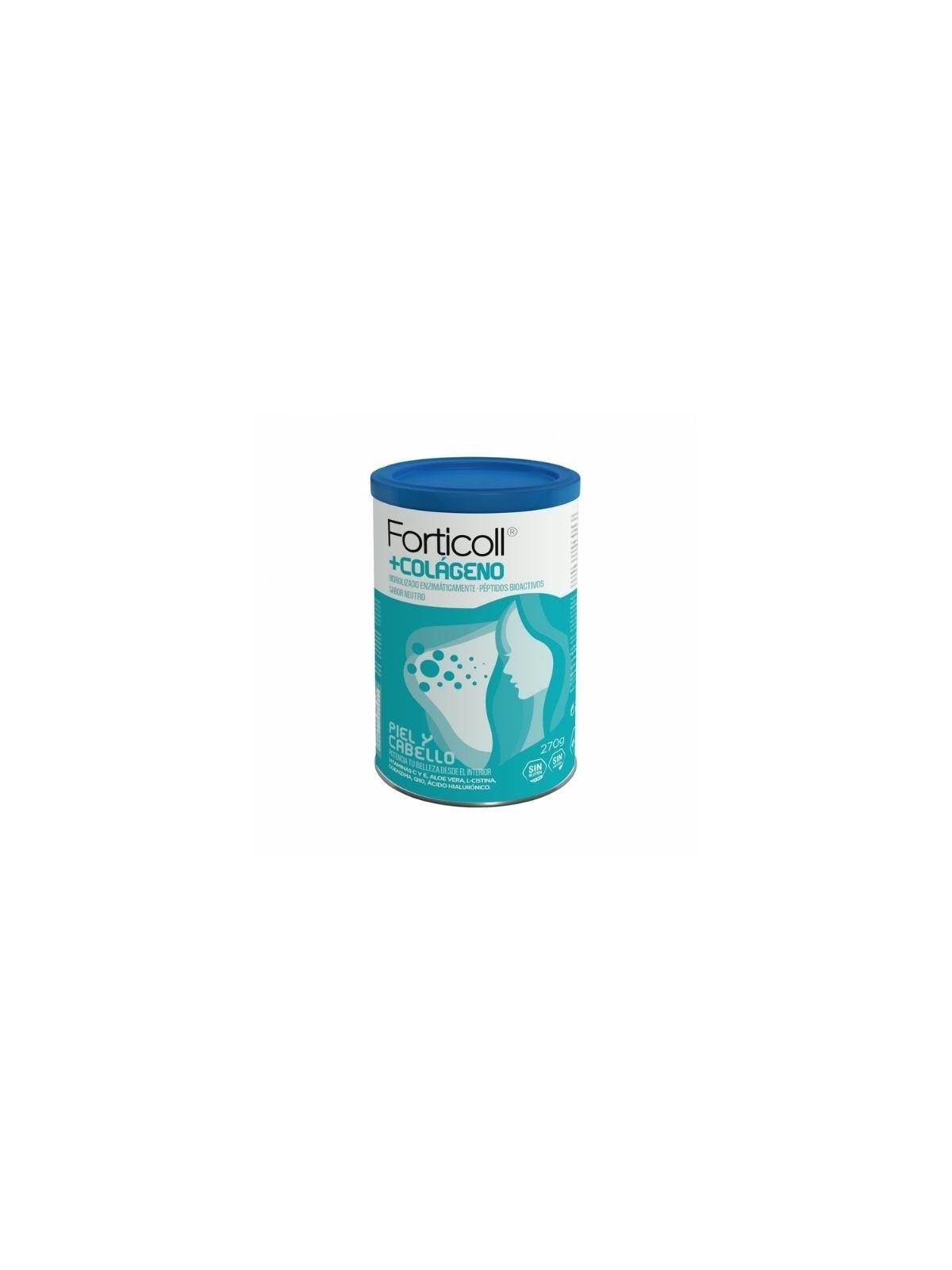 Forticoll Colágeno bioactivo piel y cabello 270g