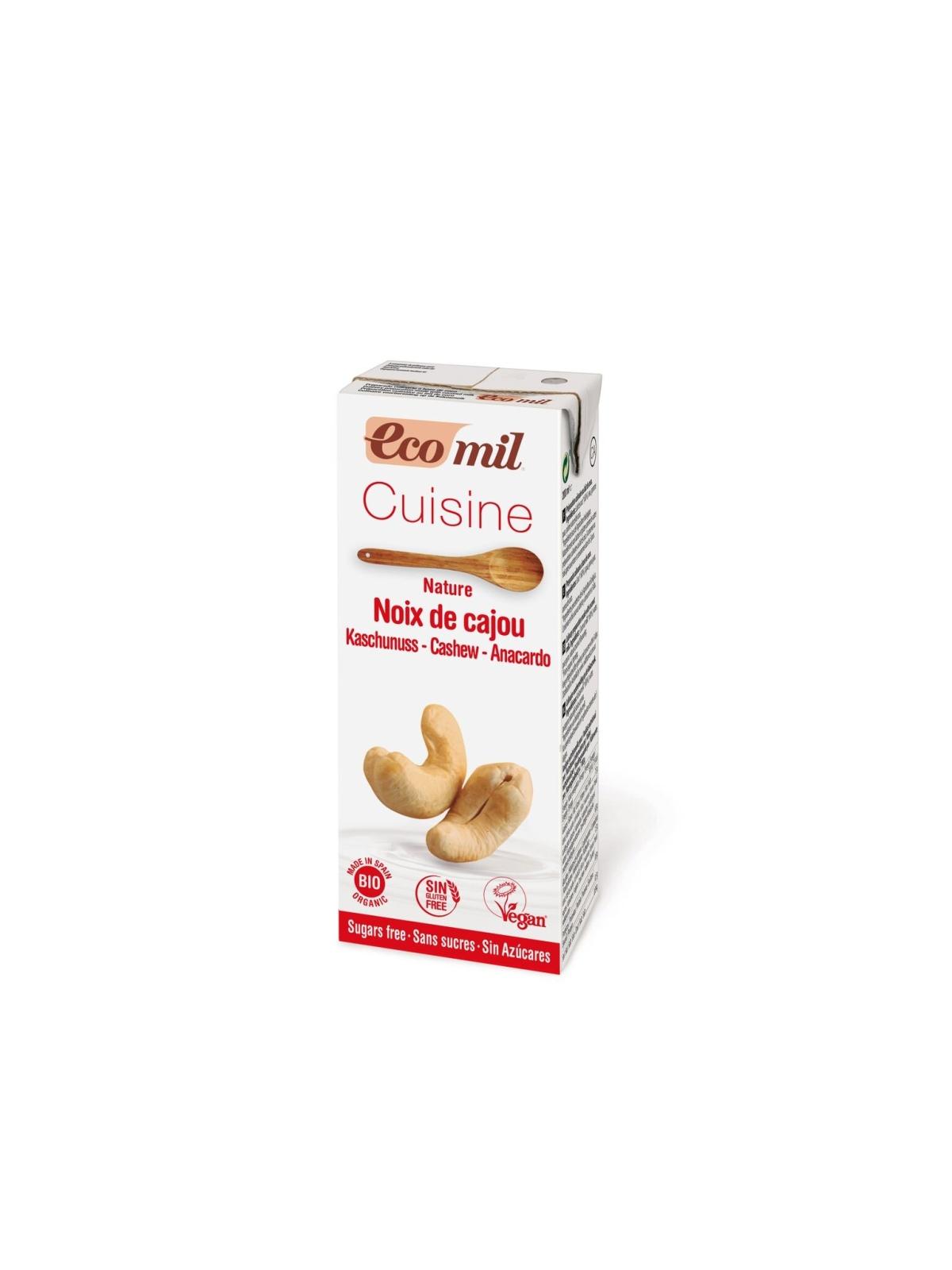 Tetra Brik de Cuisine Anacardo Bio Ecomil 200 ml.