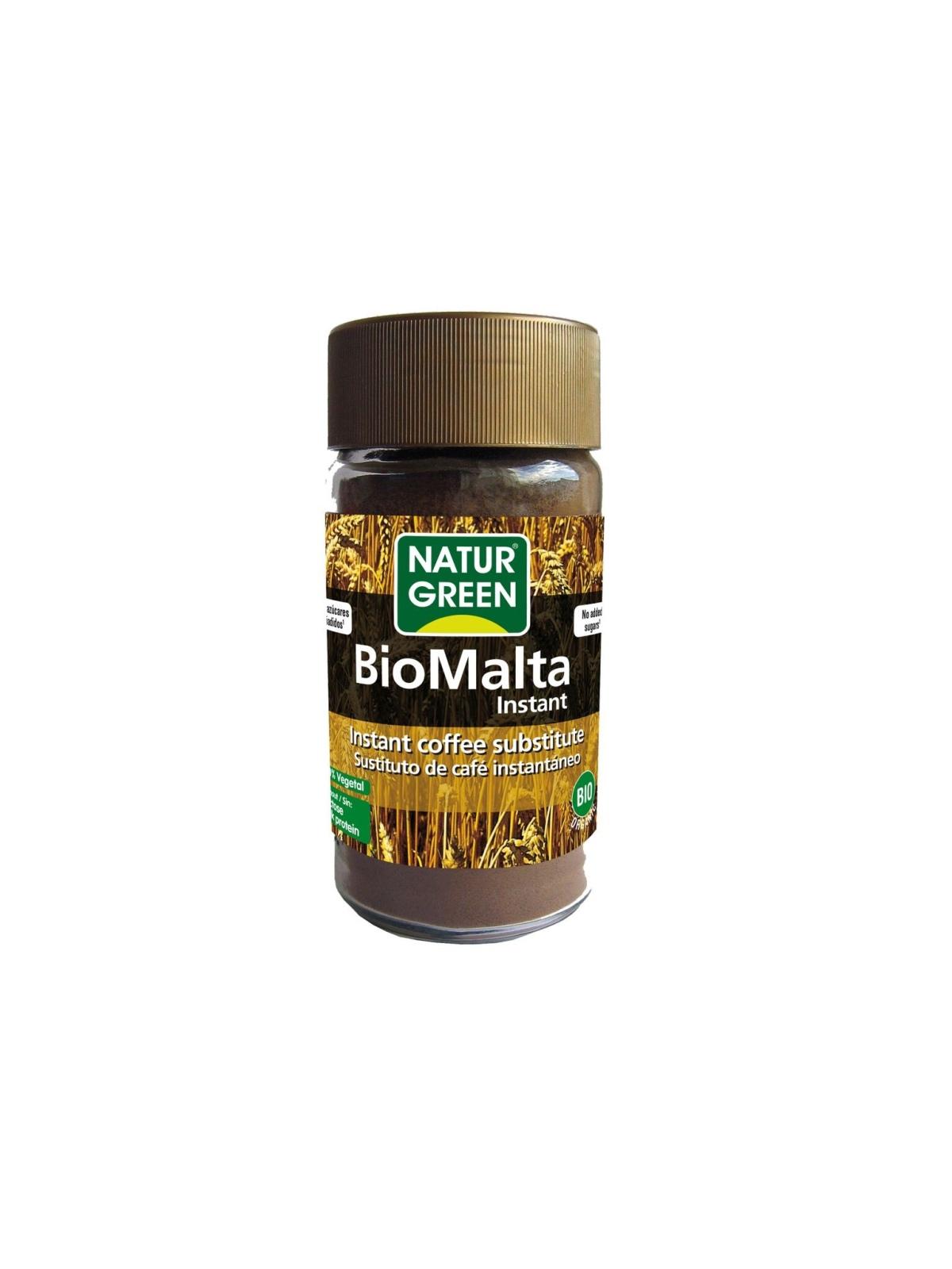 Bote de Biomalta Bio Naturgreen 100 g