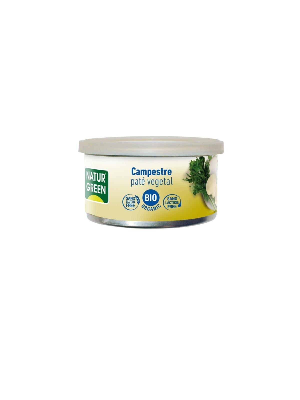 Tarrina de Paté Countryside / Campestre Bio Naturgreen 125 g