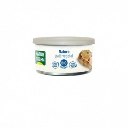 Tarrina de Paté Nature Bio Naturgreen 125 g