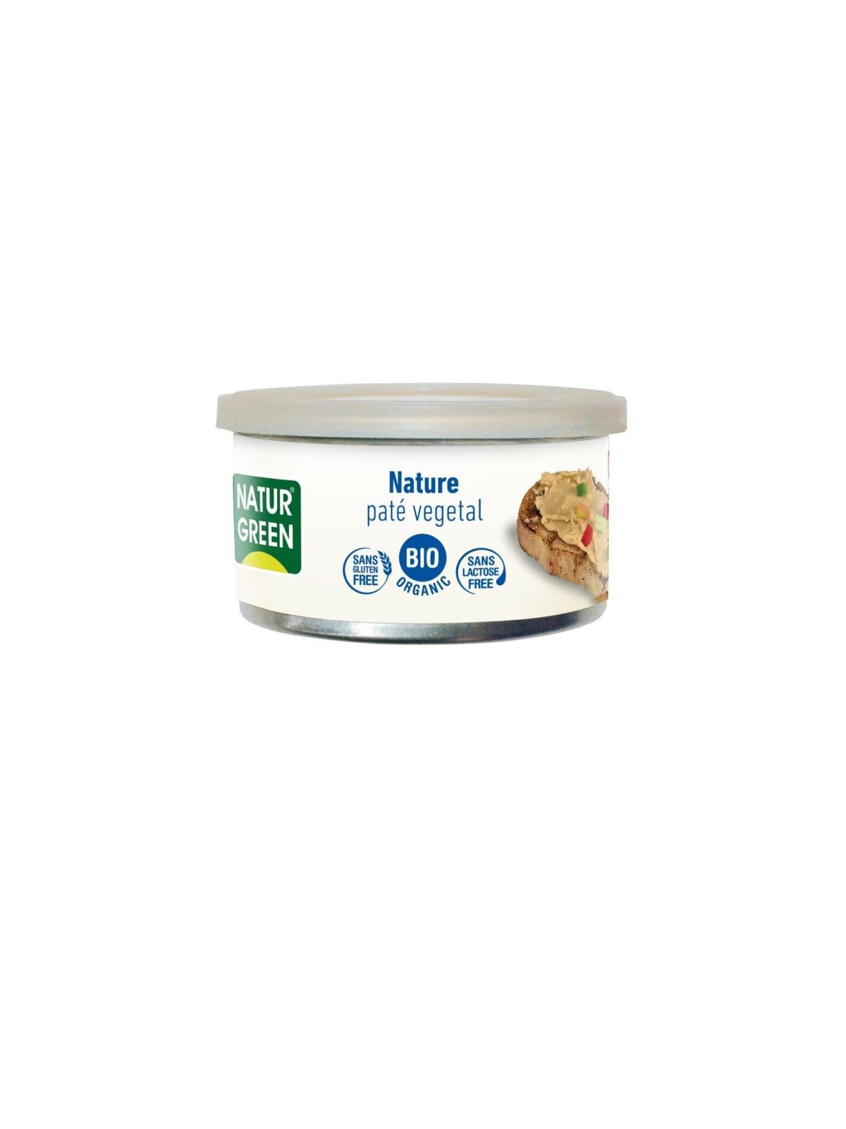 Tarrina de Paté Nature Bio Naturgreen 125 g