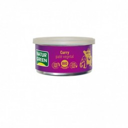 Tarrina de Paté Curry Bio Naturgreen 125 g