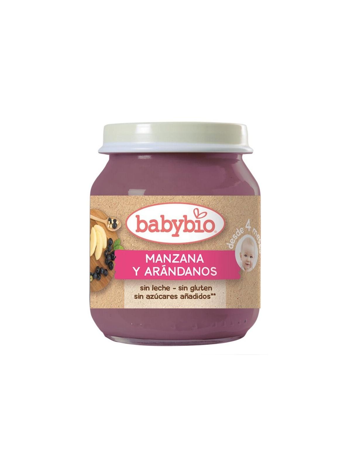 Potito de Potito Manzana Arándanos Bio BabyBio 130 g