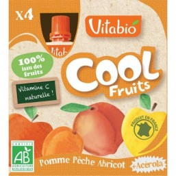 Vitabio Cool Fruits Manzana-Melocoton-Albaricoque