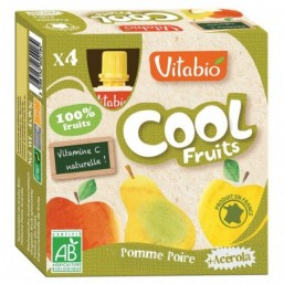 Vitabio Cool Fruits Manzana-Pera