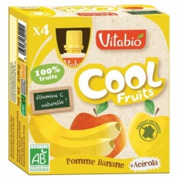 Vitabio Cool Fruits Manzana-Platano