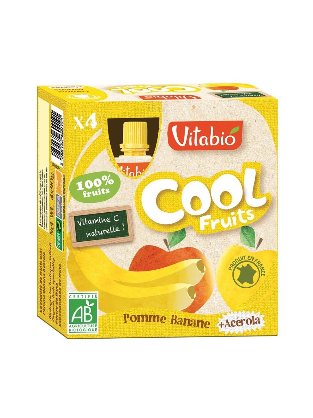 Vitabio Cool Fruits Manzana-Platano