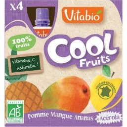 Vitabio Cool Fruits Manzana-Mango-Piña