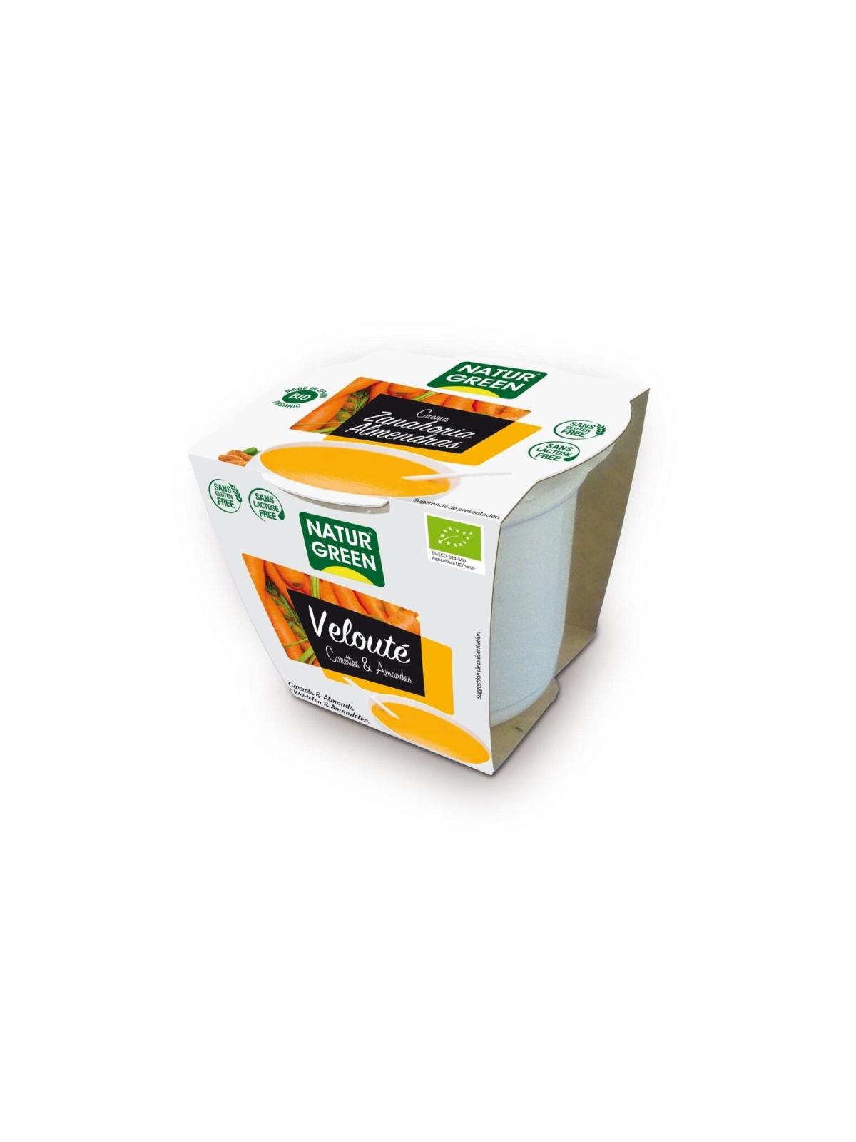 NaturGreen Crema Zanahoria con almendras