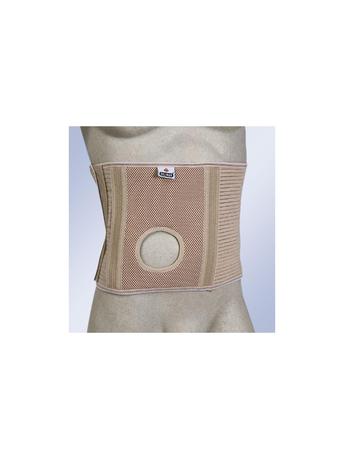 Faja abdominal para ostomizados con orificio COL 245 ORLIMAN