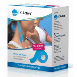 Tape elástico adhesivo Kinesiology Tape K-Active