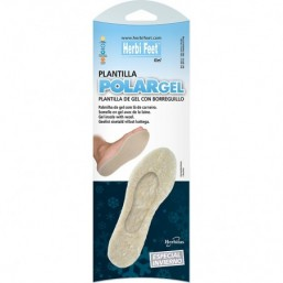 Plantilla polargel de gel con borreguillo HERBI FEET