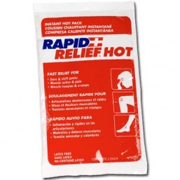 Compresa de calor instantáneo Rapid Relief Instant Hot