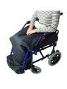 manta polar silla de ruedas