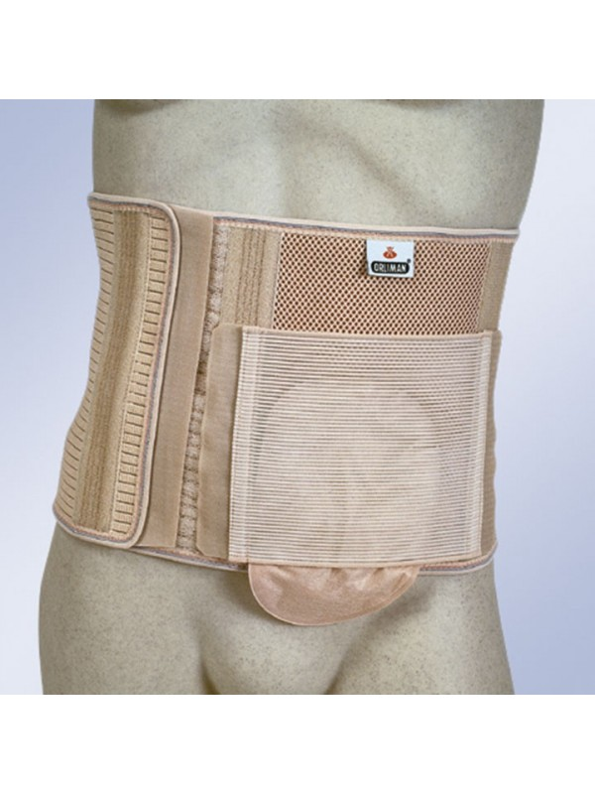 Faja abdominal para ostomizados sin orificio