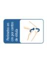 Rodillera flexo-extensión corta