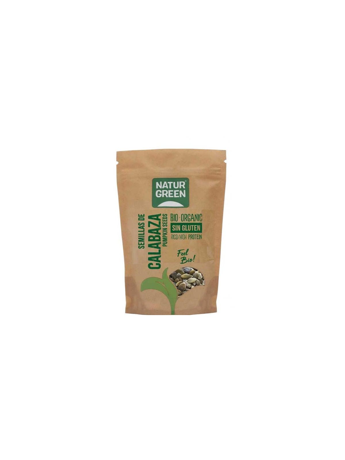 Bolsa Doypack de Semillas de Calabaza Bio Naturgreen 225 g 450 g