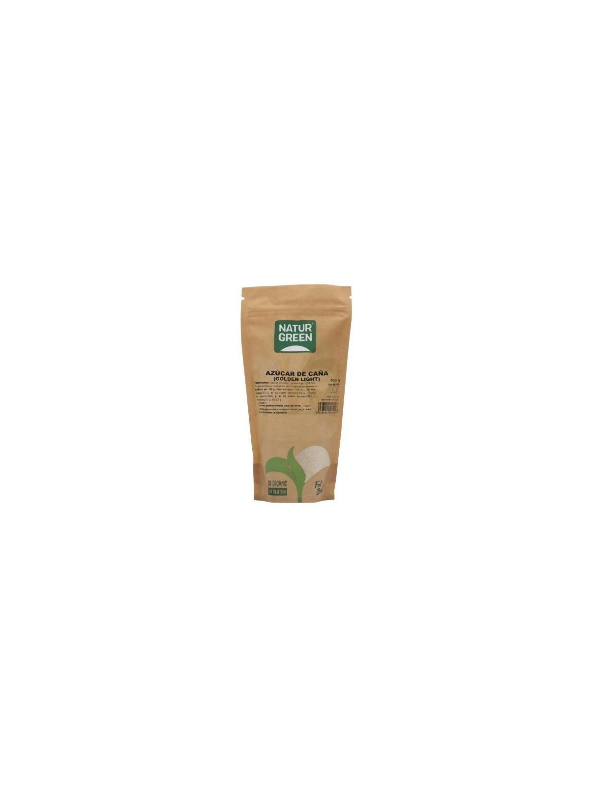 Bolsa Doypack de Azúcar de caña (Golden Light) Bio Naturgreen 500 g