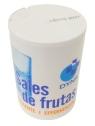 Sales de frutas gasificante y limón aereo