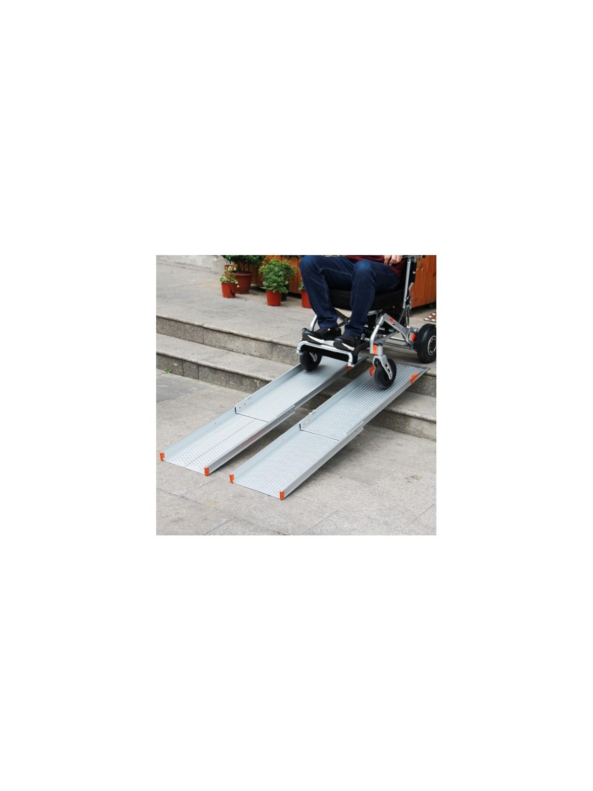Rampas telescópicas para sillas de ruedas1