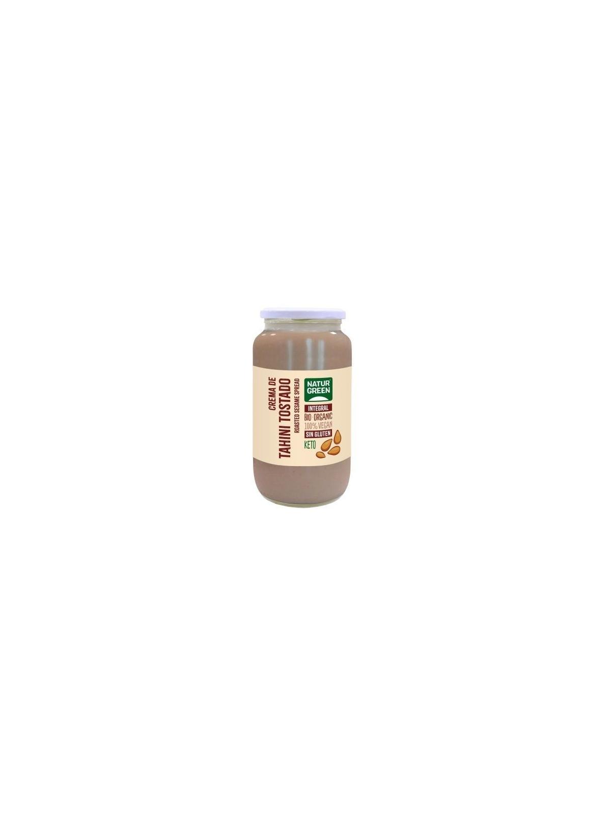 Bote de Tahín Puré de Sésamo Tostado Bio Naturgreen 800 g